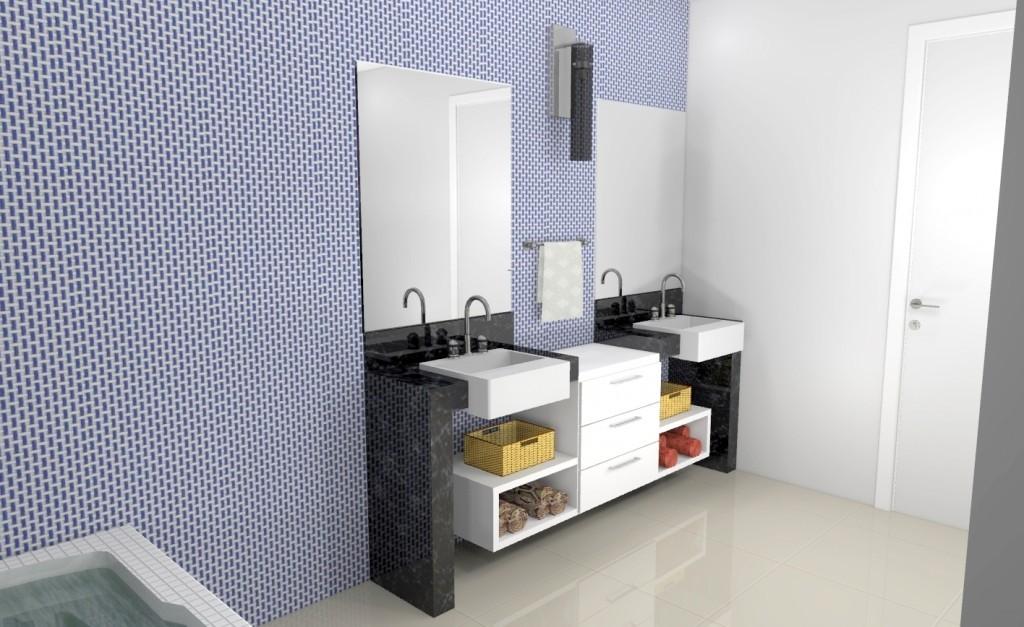 Banheiro planejado 160