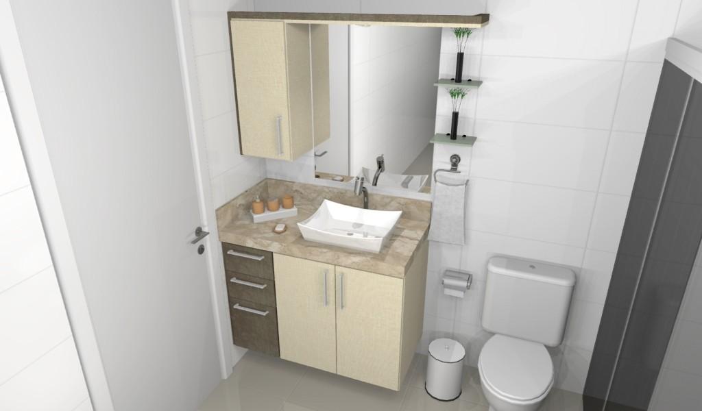 Banheiro planejado 161