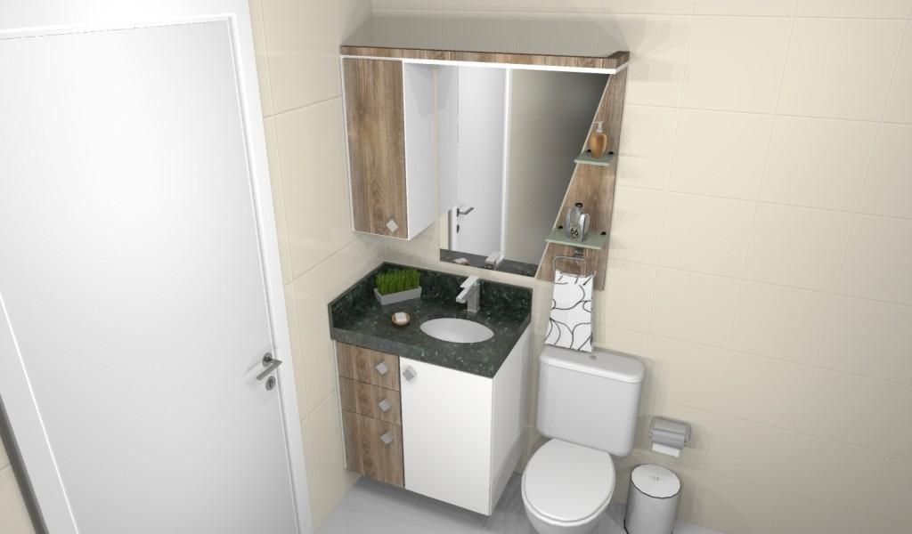 Banheiro planejado 162