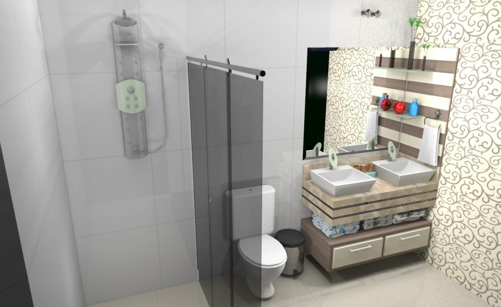 Banheiro planejado 163