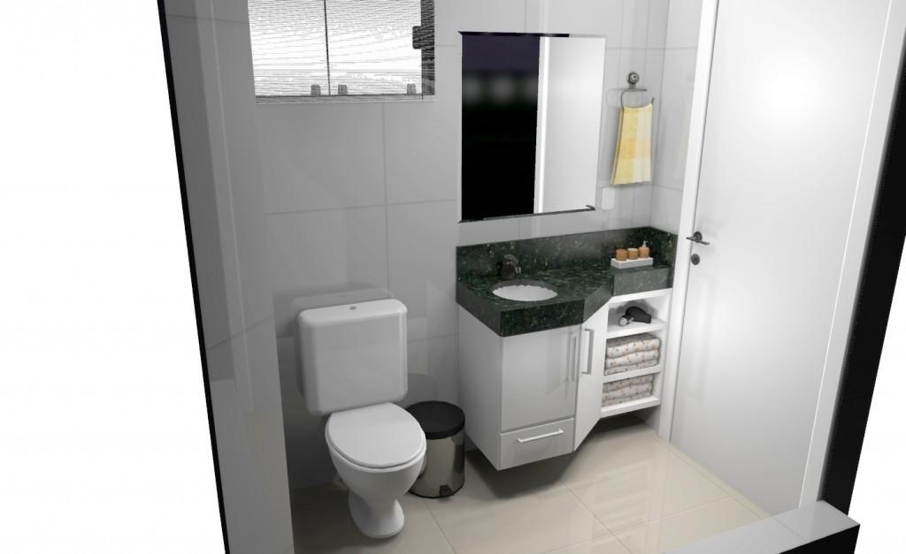 Banheiro planejado 164