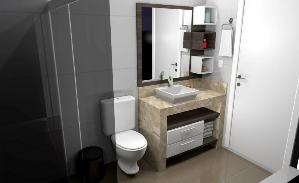 Banheiro planejado 165