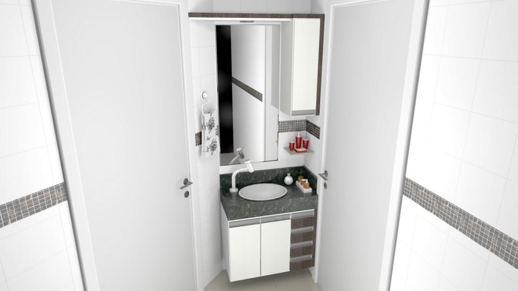 Banheiro planejado 166