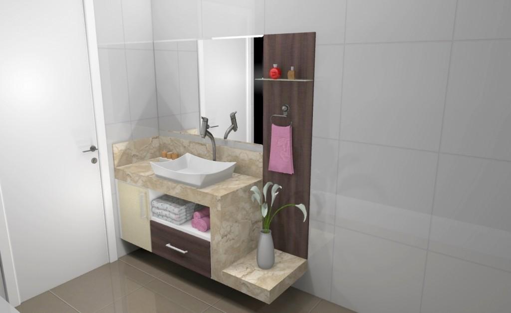 Banheiro planejado 167