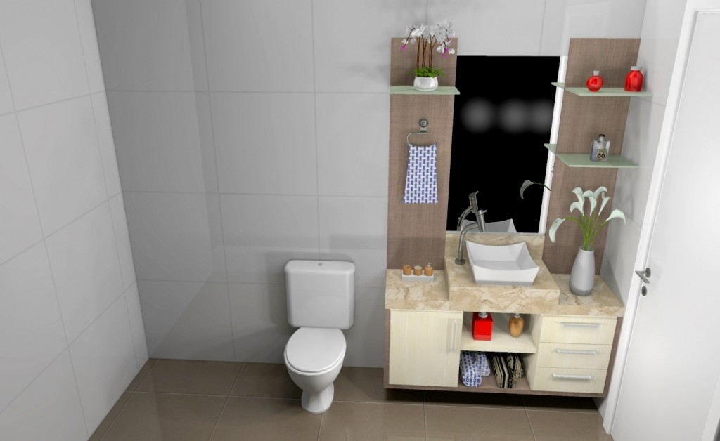 Banheiro planejado 168