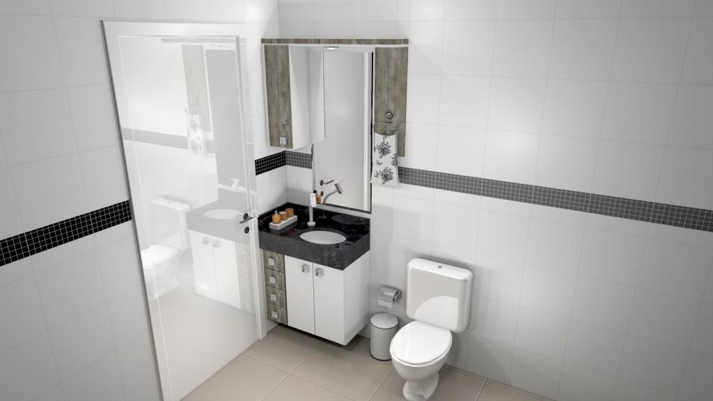 Banheiro planejado 169