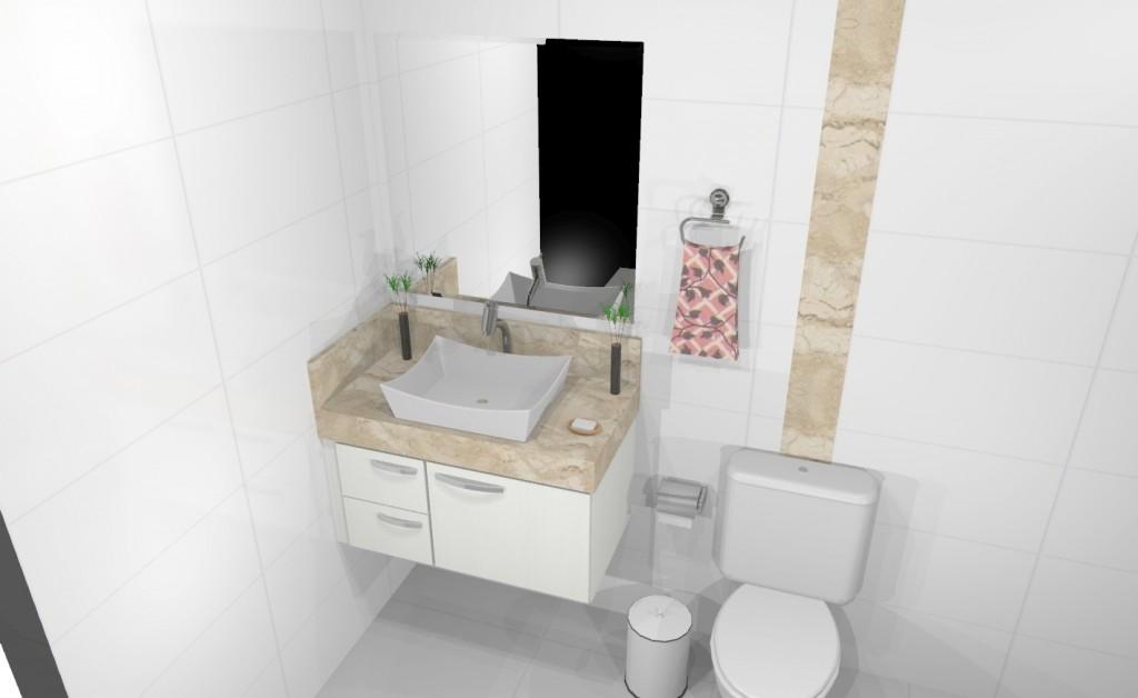 Banheiro planejado 170