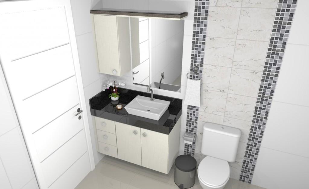 Banheiro planejado 172