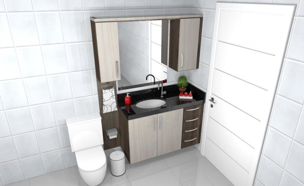 Banheiro planejado 173