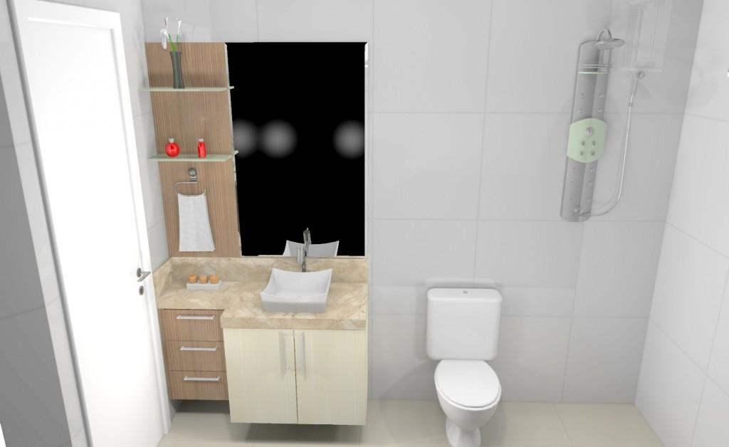 Banheiro planejado 174