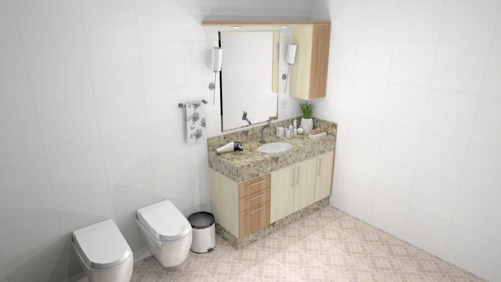 Banheiro planejado 176