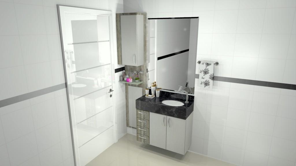 Banheiro planejado 177