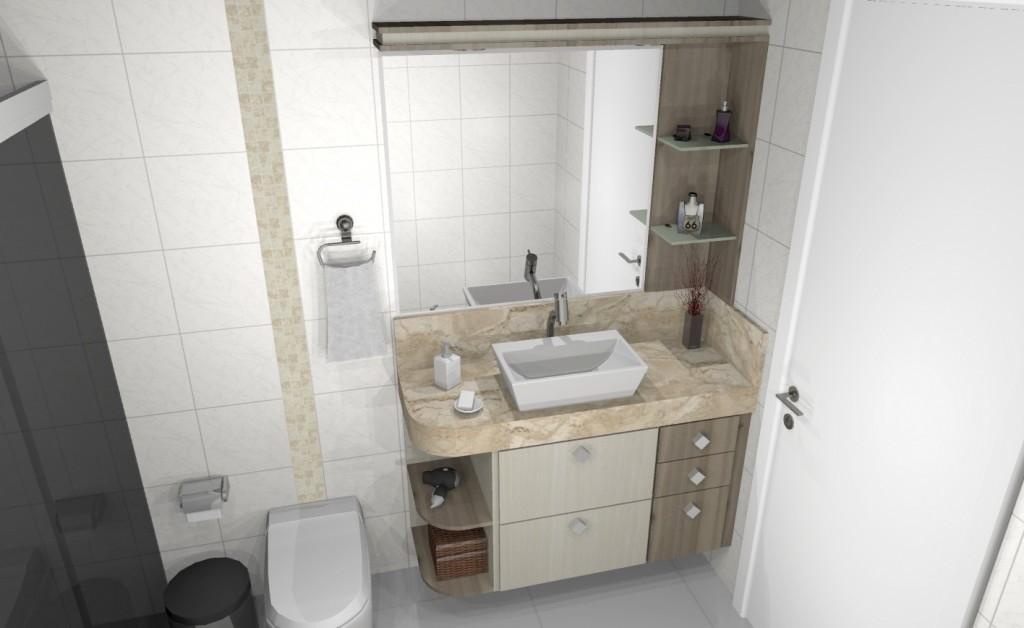 Banheiro planejado 179