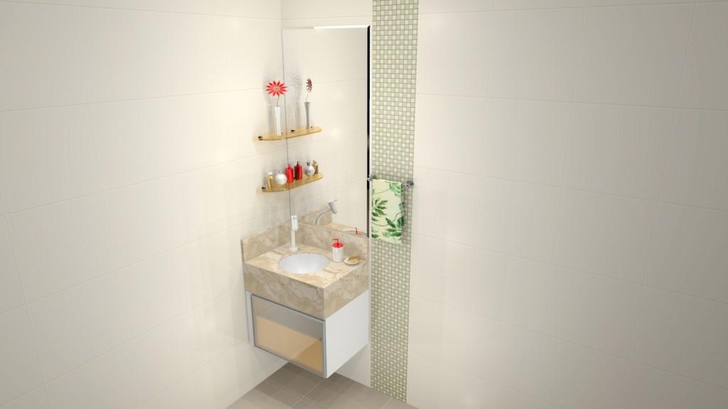 Banheiro planejado 186