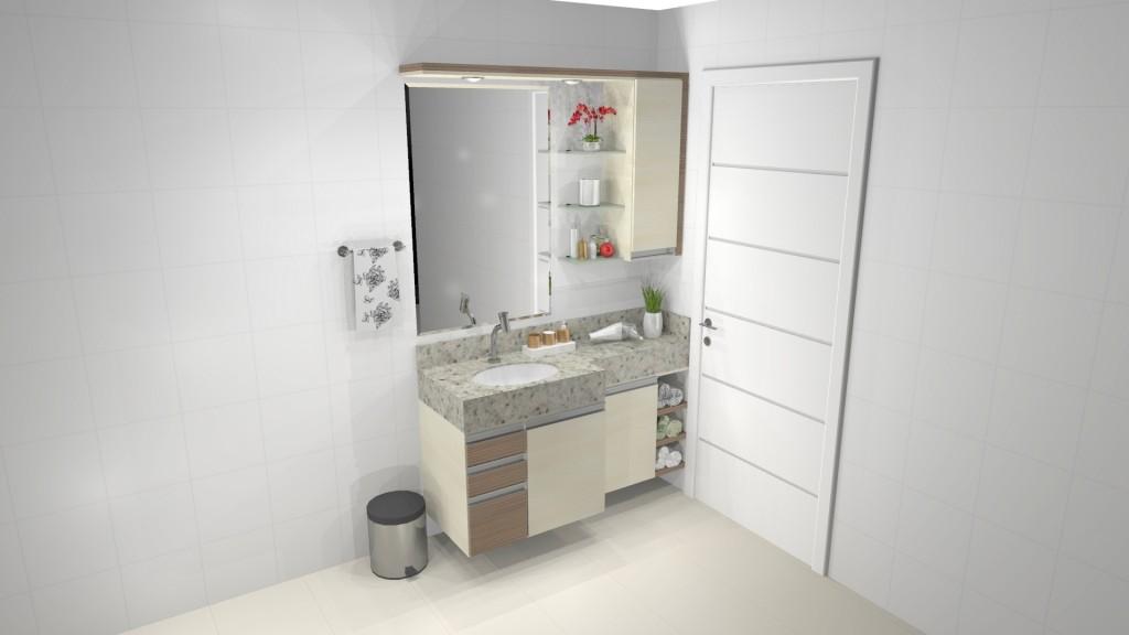 Banheiro planejado 187
