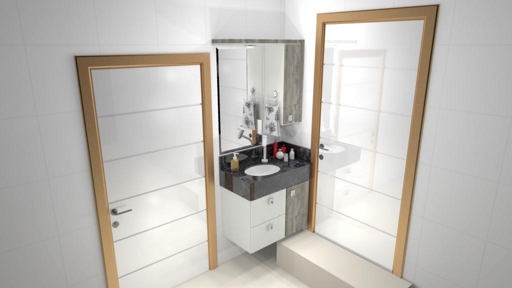 Banheiro planejado 189