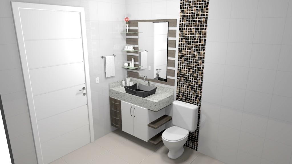 Banheiro planejado 190