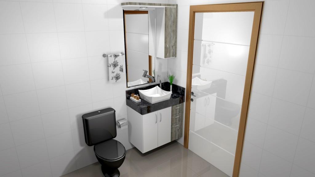 Banheiro planejado 191