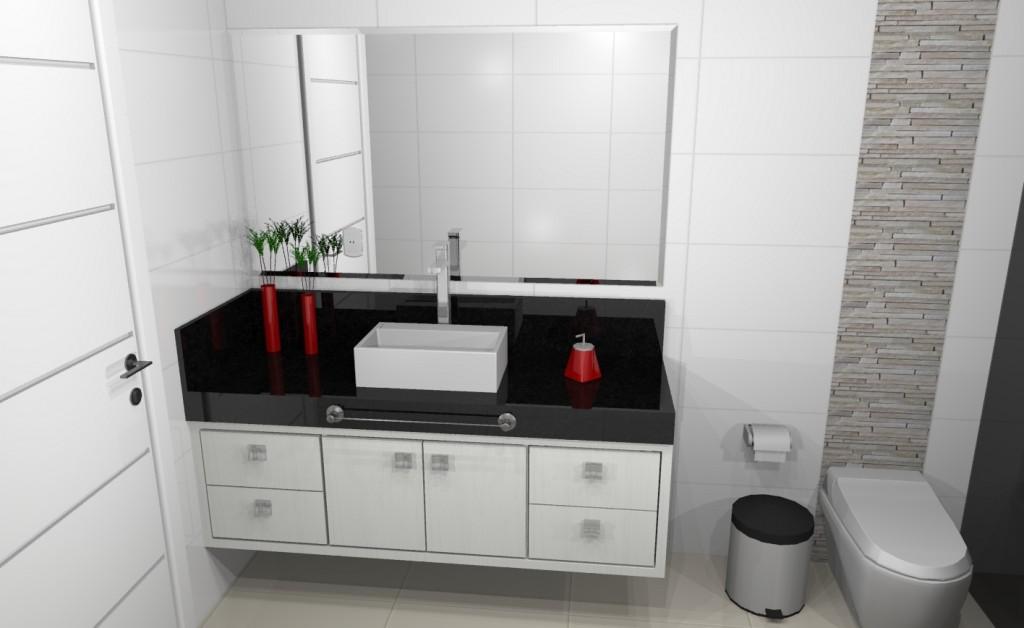 Banheiro planejado 194