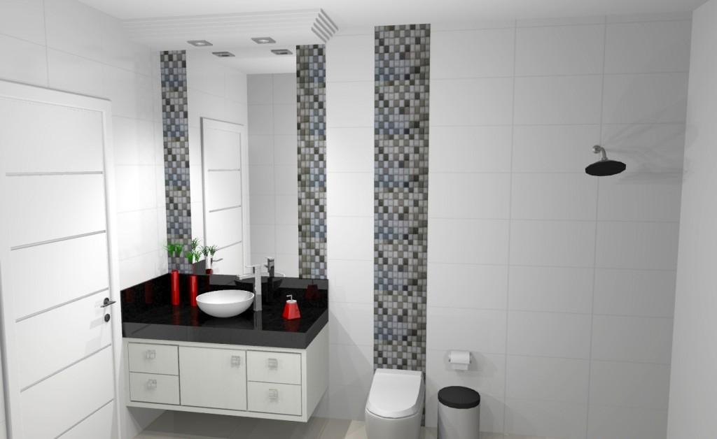 Banheiro planejado 195