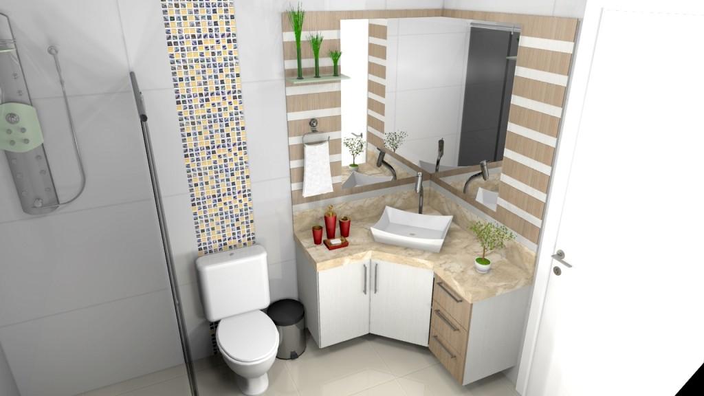 Banheiro planejado 197