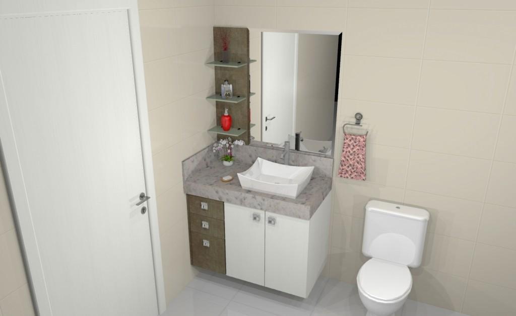 Banheiro planejado 198