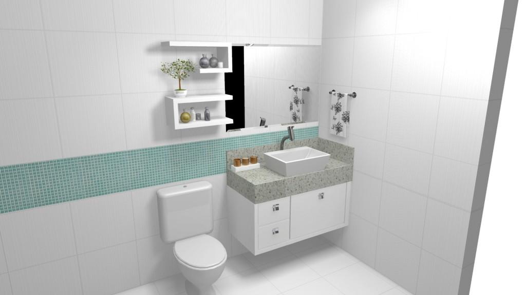 Banheiro planejado 200