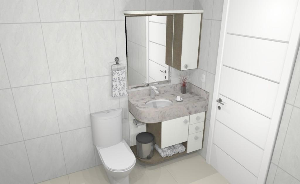 Banheiro planejado 201