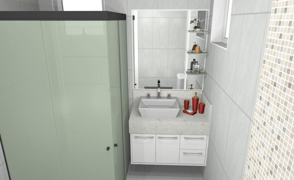 Banheiro planejado 202