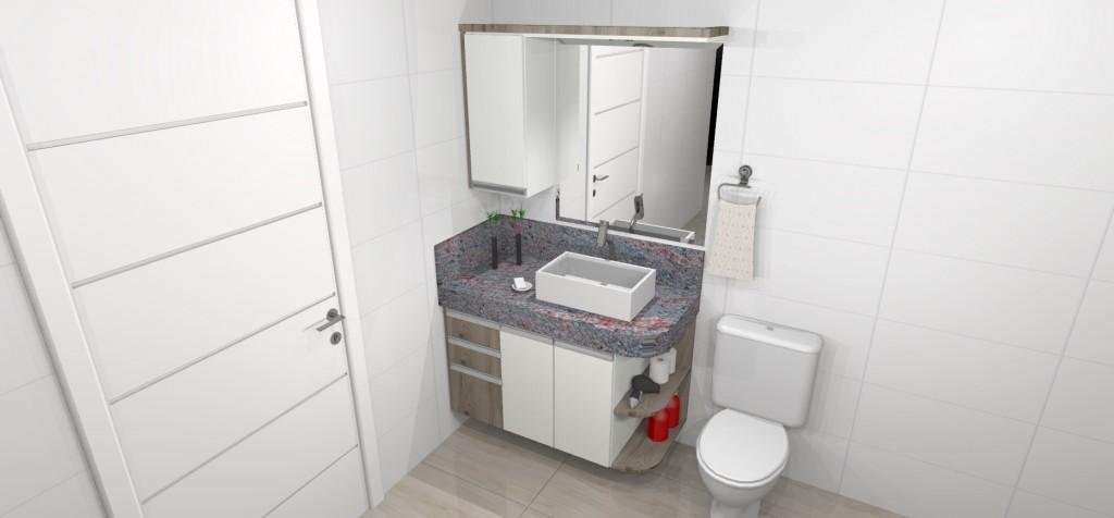 Banheiro planejado 203