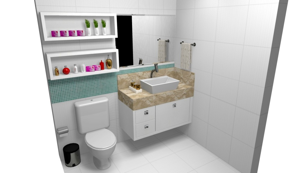 Banheiro planejado 204
