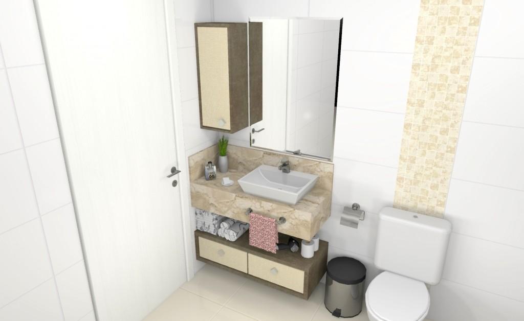 Banheiro planejado 205
