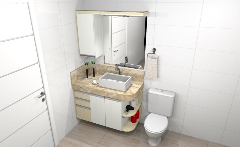 Banheiro planejado 206