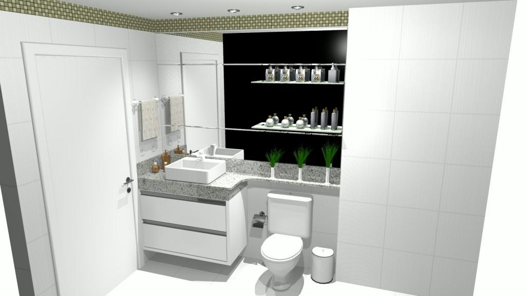 Banheiro planejado 207