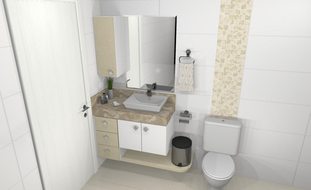 Banheiro planejado 209