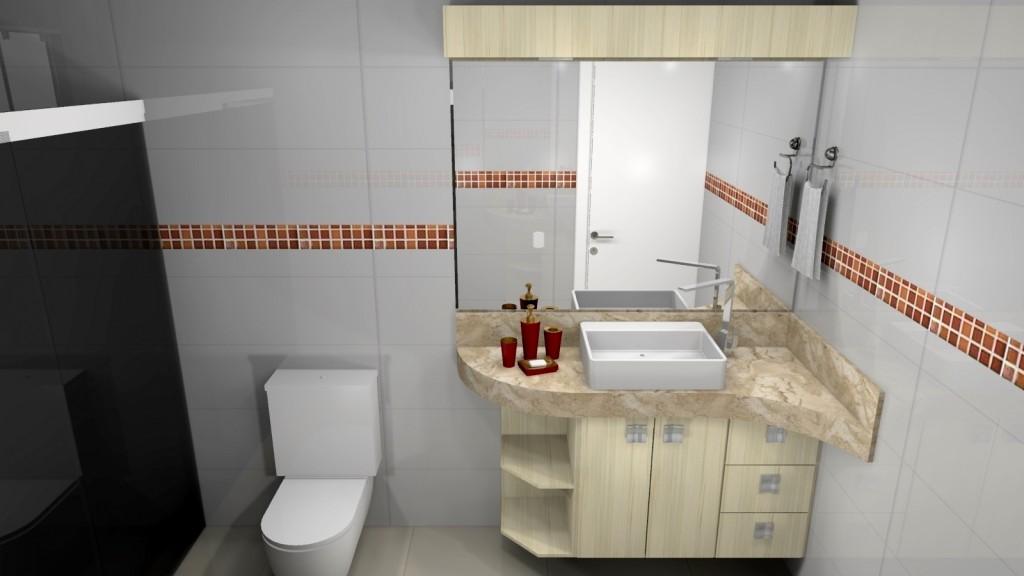 Banheiro planejado 211