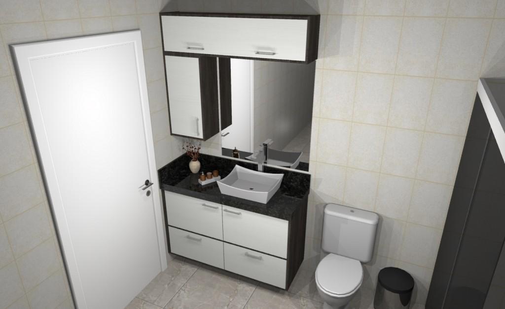 Banheiro planejado 240