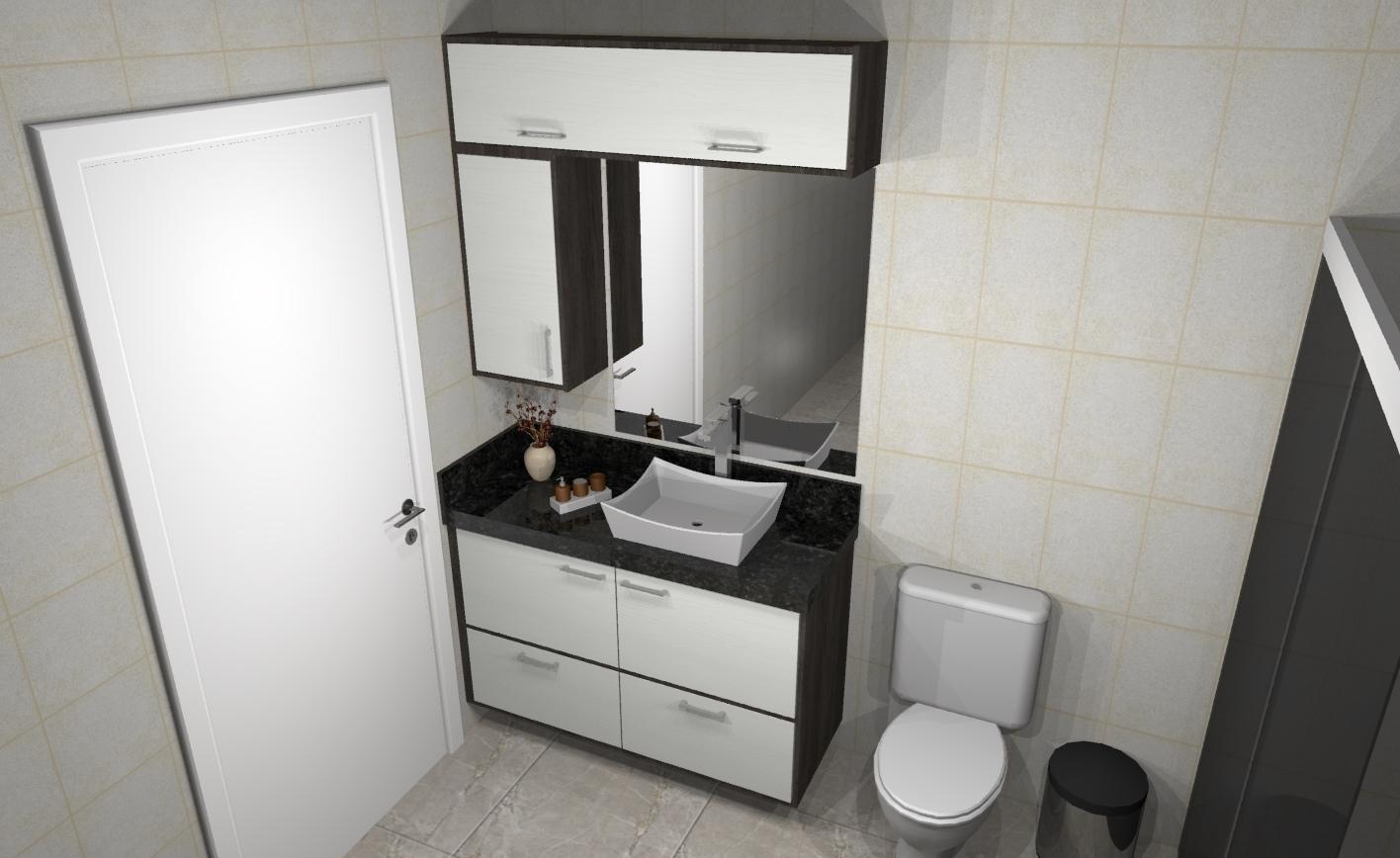 Novos projetos adicionados » Apreciare, móveis planejados -> Banheiro Planejado Chique