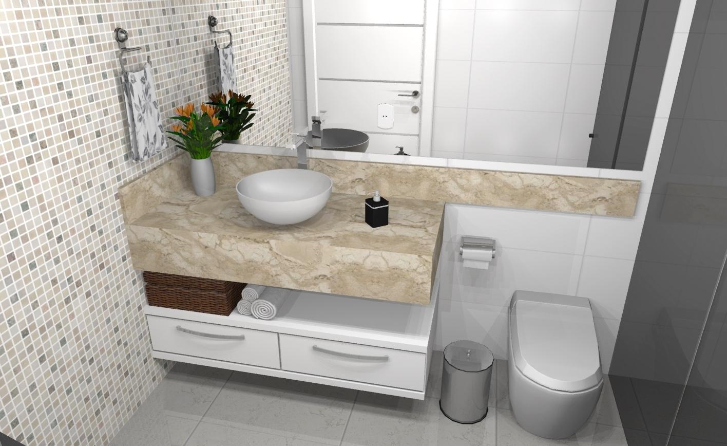 Banheiros » Apreciare, móveis planejados -> Moveis Planejados Para Pia De Banheiro