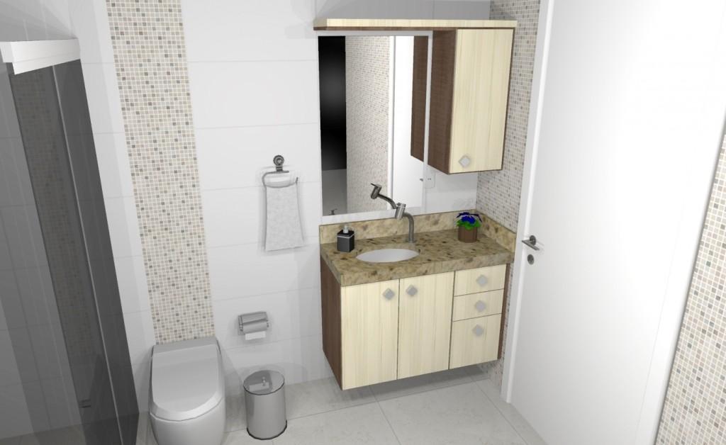 Banheiro planejado 242