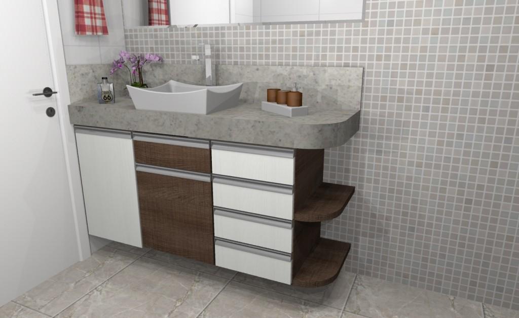 Banheiro planejado 243