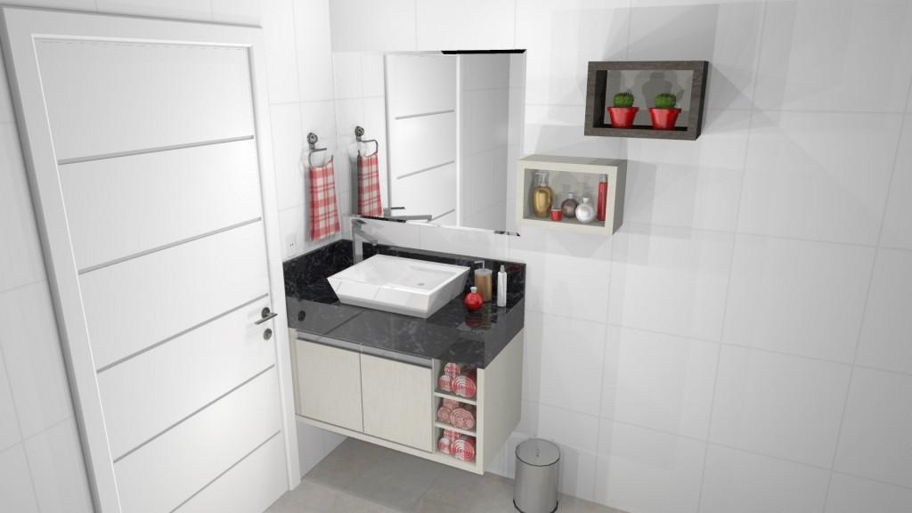 Banheiro planejado 244