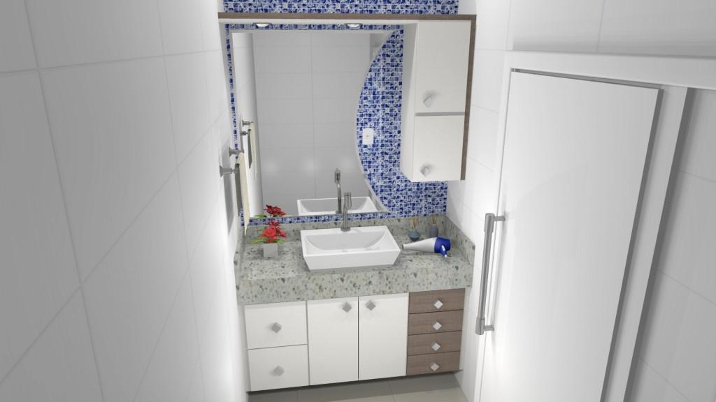 Banheiro planejado 245
