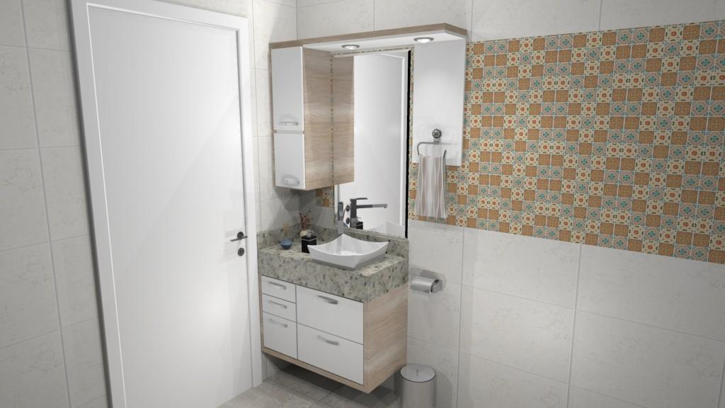 Banheiro planejado 246