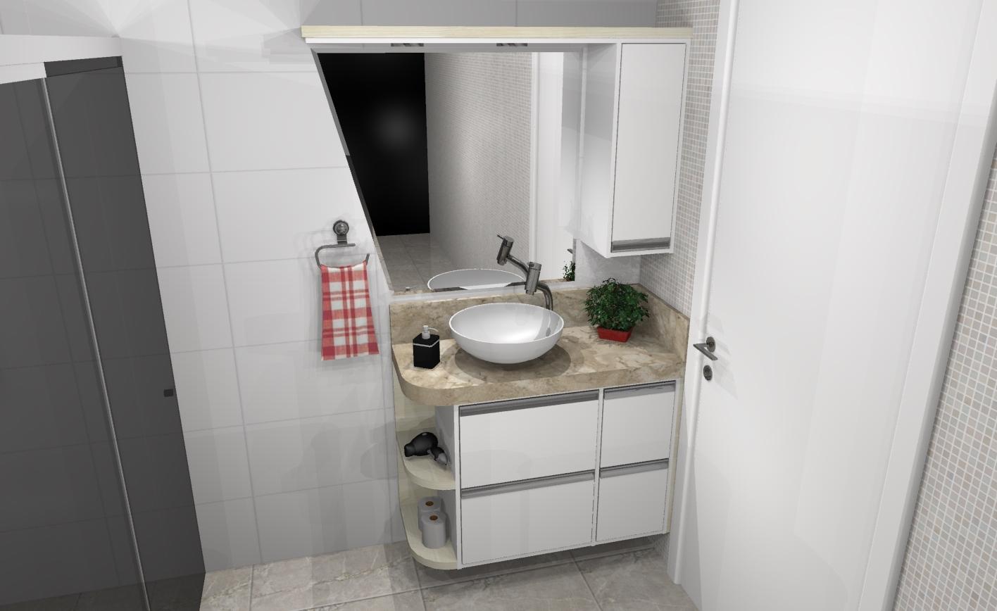 Banheiro planejado 247