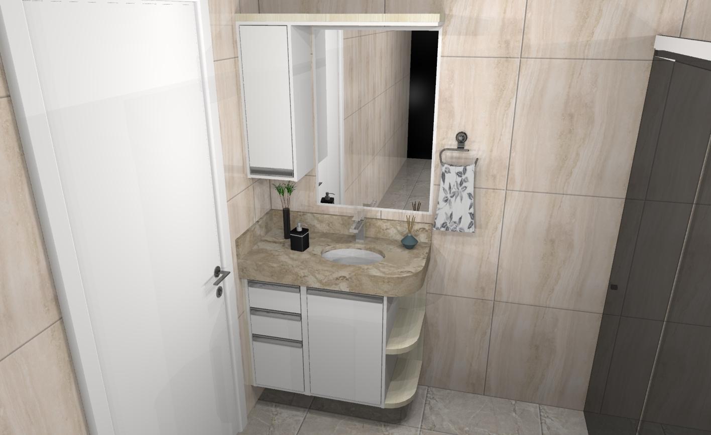 Banheiro planejado 248