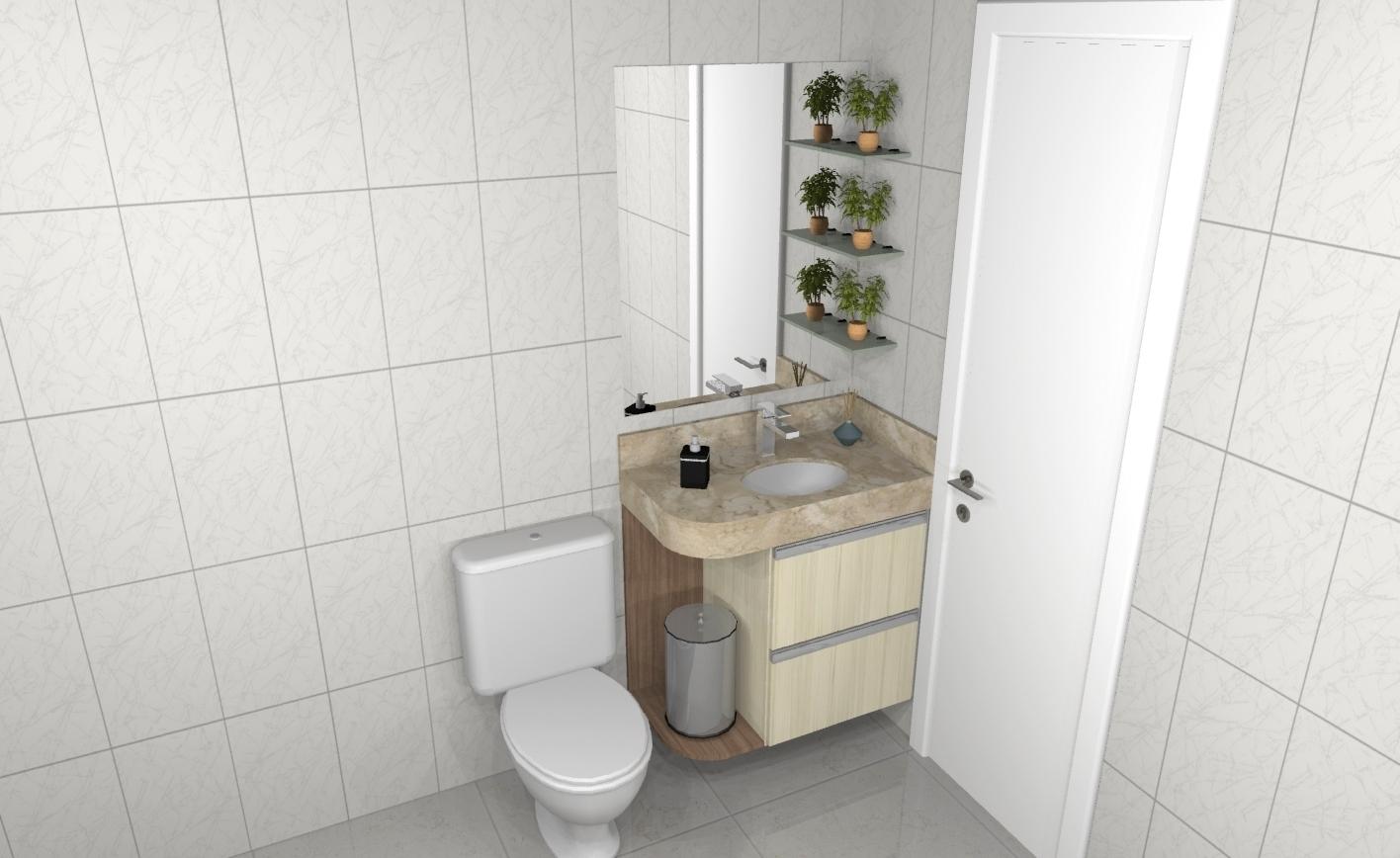 Banheiro planejado 250
