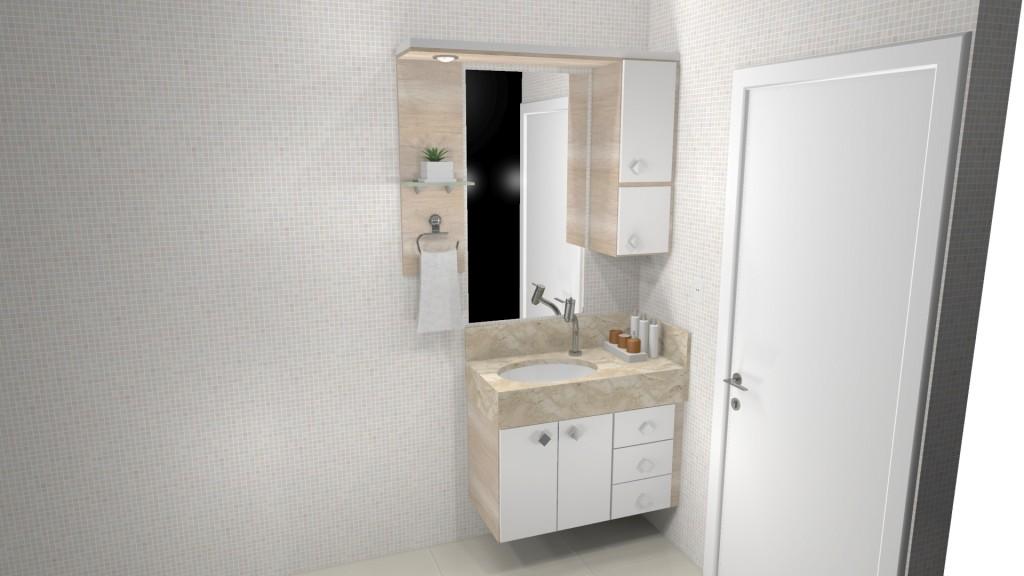 Banheiro planejado 251