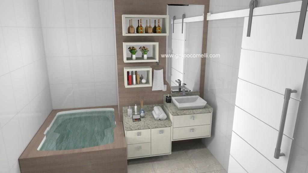 Banheiro planejado 252