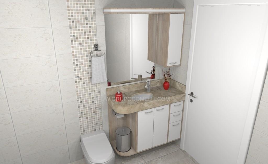 Banheiro planejado 253